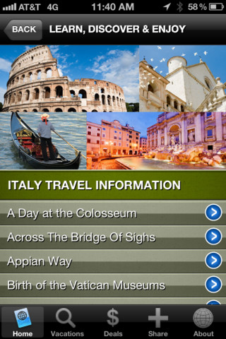 Passport to Travel App by the Globus family of brands