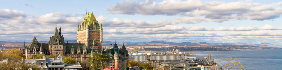 Packages with Quebec City