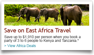 East Africa Vacation Package Deals