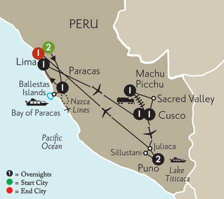 Peru Vacation Package