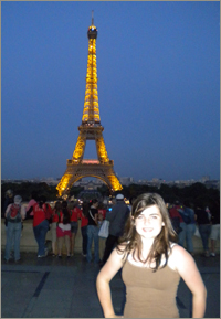 Caelainn in Paris