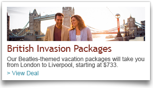 2014 British Invasion Travel Packages