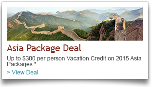 Asia Vacation Package Deals