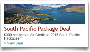 South Pacific Vacation Package Deals