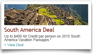 South America Vacation Package Deals