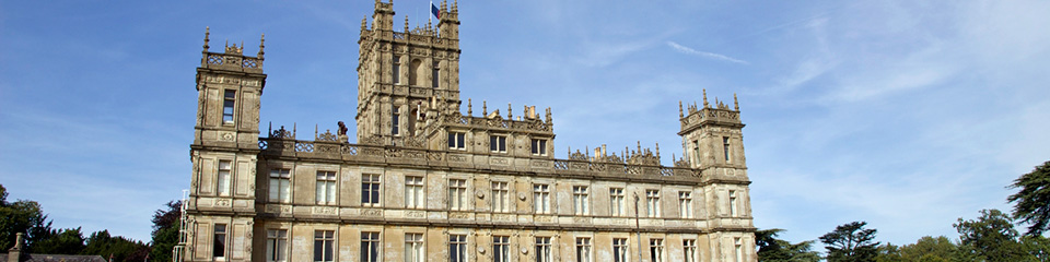 Visit Oxford, Bampton and Highclere Castle, as featured in The Downton Abbey TV Series