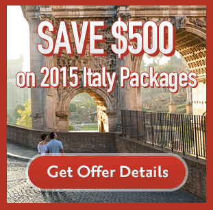 Save $500 per person on 2015 Italy Packages with Star Alliance